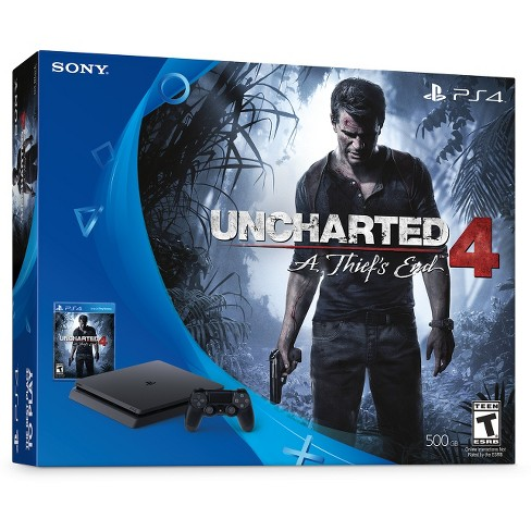Uncharted 4 PlayStation 4 500GB Slim Bundle - image 1 of 11