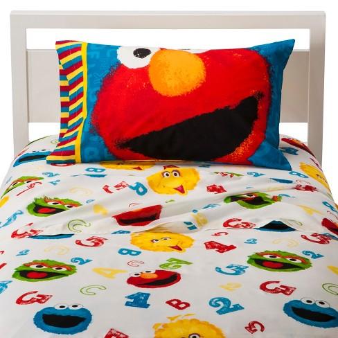 Sesame Street Sheet Set Twin