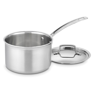 Cuisinart Multiclad Pro Triple Ply Stainless Steel 3qt Saucepan