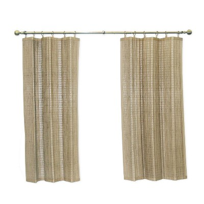 Versailles Patented Ring Top Bamboo Panel Series Panel Driftwood