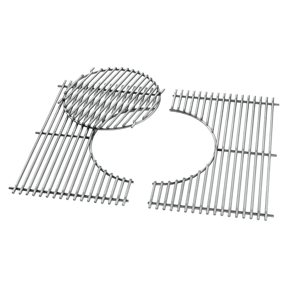 Weber Gourmet Bbq System Gas Grill Cooking Grates – Genesis 300 series, Silver 14321654