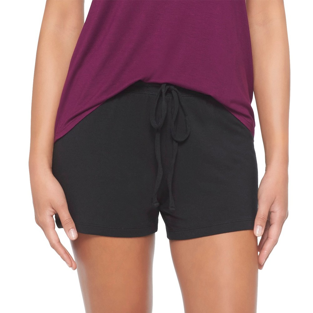 Women's Pajama Shorts Total Comfort Black Xxl