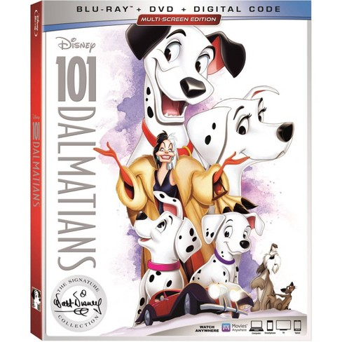 101 Dalmatians Signature Collection (Blu-Ray + DVD + Digital) - image 1 of 2