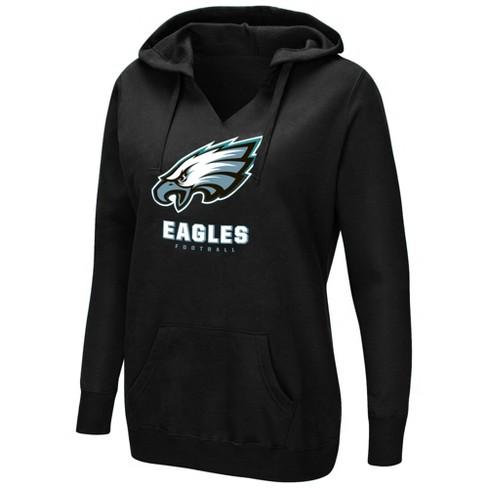 NFL Philadelphia Eagles Women s Shape It Up Plus Size Hoodie   Target d8fcb6f8f