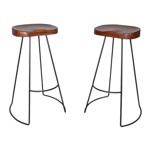 Vale 30 Quot Bar Stool Set Of 2 Carolina Chair And Table