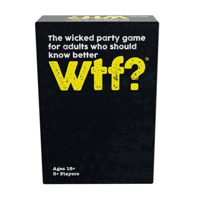 Games Adults Play WTF? Card Game