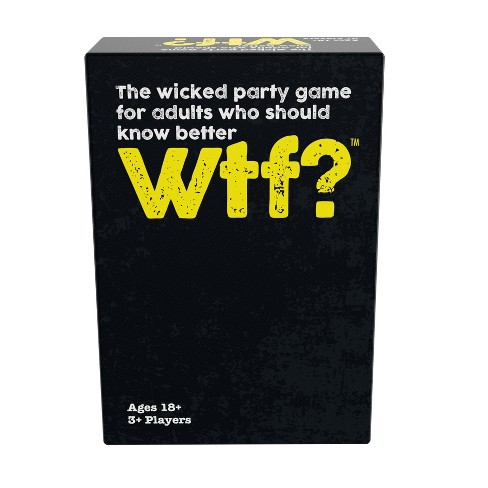 Pressman WTF Card Game Target