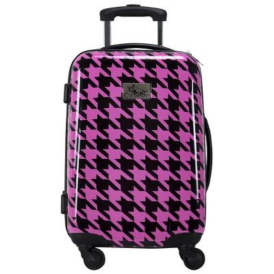 "Chariot Travelware Bird 20"" Carry On Suitcase - Fuchsia/Black"