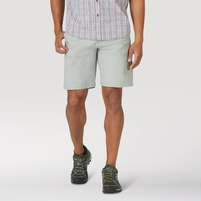 "Wrangler Men's 9"" Outdoor Shorts - Light Gray 38"
