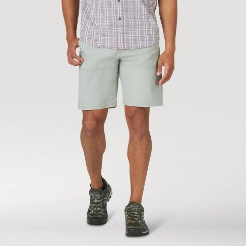 """Wrangler Men's 9"""" Outdoor Shorts - Light Gray - image 1 of 4"""