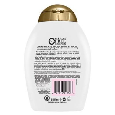 OGX Nourishing + Coconut Milk Conditioner - 13 fl oz, Size: 13 Ounce