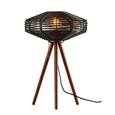 "24"" Kingston Table Lamp Black - Adesso"
