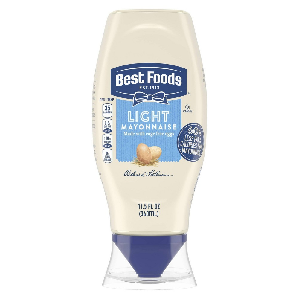 Best Foods Light Mayonnaise Squeeze - 11.5oz Coupons