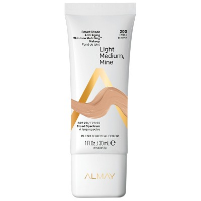 Almay Smart Shade Anti-Aging Skintone Matching Makeup SPF 20 - 1 fl oz