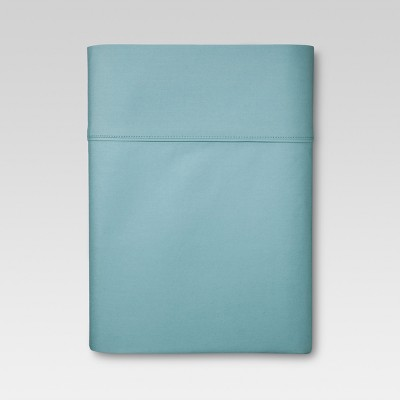 Ultra Soft Flat Sheet (Queen)Aqua 300 Thread Count - Threshold™