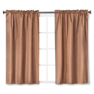 Braxton Thermaback Light Blocking Curtain Panel Tan (42 x84 )- Eclipse™