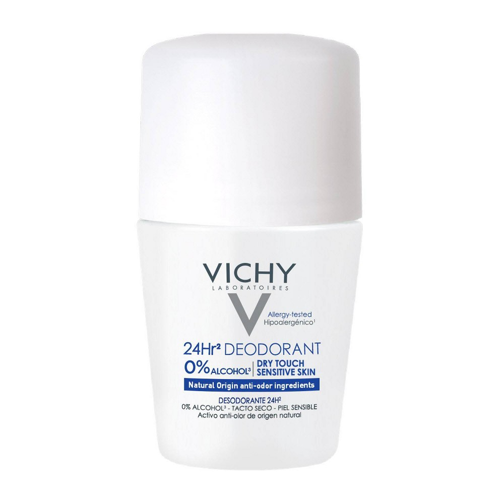 Image of Vichy 24 Hours Dry Touch Roll-On Deodorant - 1.7oz