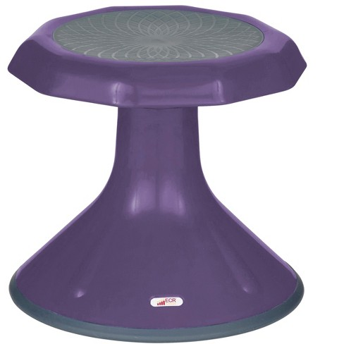 Strange Ecr4Kids Ace Wobble Stool Active Flexible Seating Chair For Kids Classrooms And Home 12 Eggplant Purple Gmtry Best Dining Table And Chair Ideas Images Gmtryco
