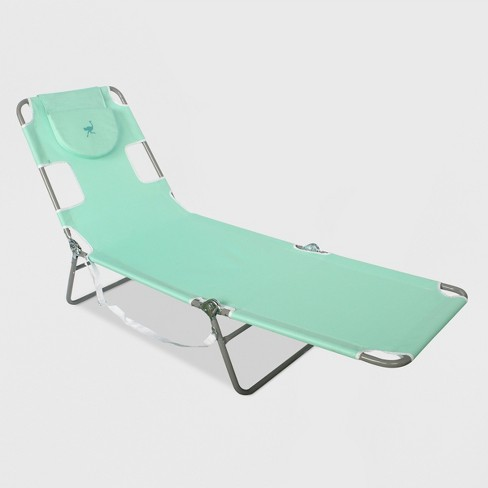 Beach Lounger with Carrying Strap - Ostrich - image 1 of 2