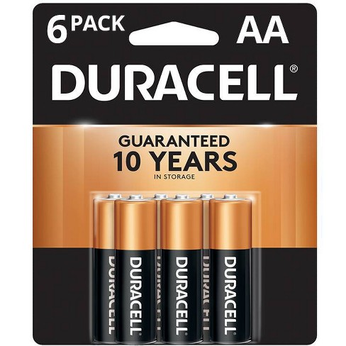 Duracell Coppertop AA Batteries - 6 Pack Alkaline Battery - image 1 of 4