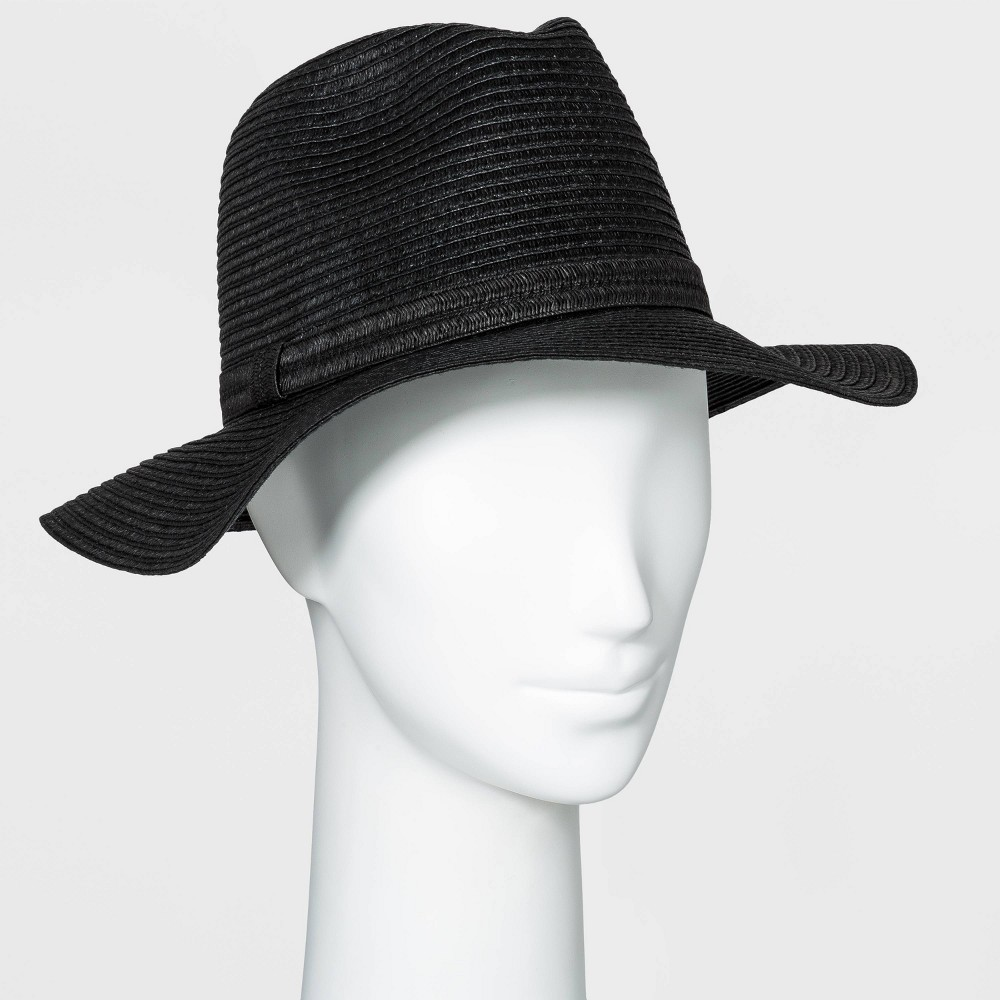 Best Women' Packable Eential traw Panama Hat - A New Day™ Black