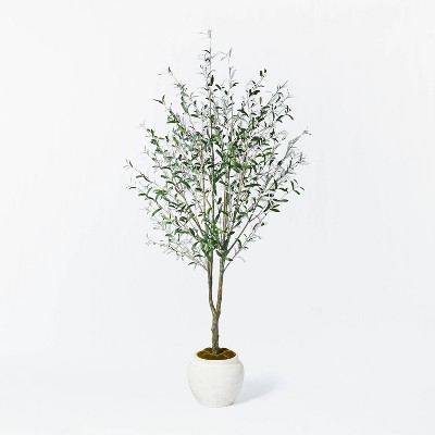 """93"""" Artificial Olive Tree - Threshold™ designed with Studio McGee"""