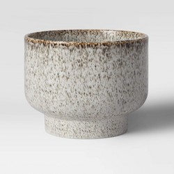 """10"""" Ceramic Footed Planter Ochre - Project 62™"""