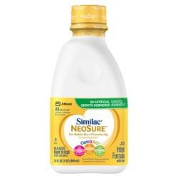 Similac NeoSure Infant Formula with Iron Ready-to-Feed - 32 fl oz