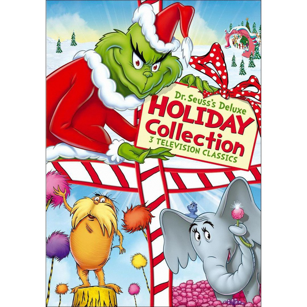 Dr. Seuss's Deluxe Holiday Collection (3 Discs) (dvd_video)