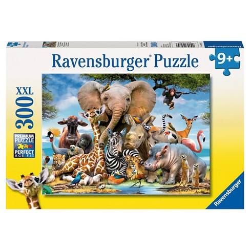 Ravensburger African Friends XXL Puzzle 300pc - image 1 of 2
