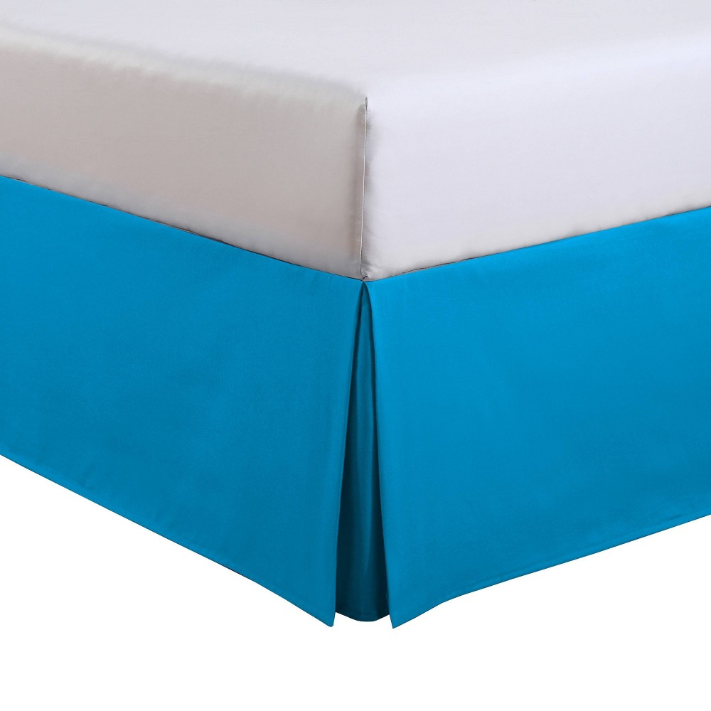 Image of Luxury Hotel Kids Full Kids Tailored Bed Skirt Blue