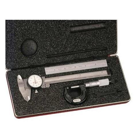STARRETT S909MZ Basic Precision Measure Set,Metric,3 Pc - image 1 of 1