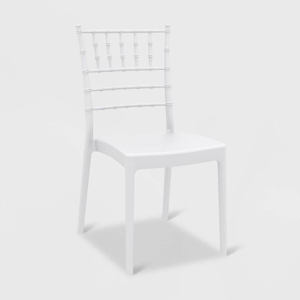 Image of Josephine 2pk Patio Armchair - White - RESOL