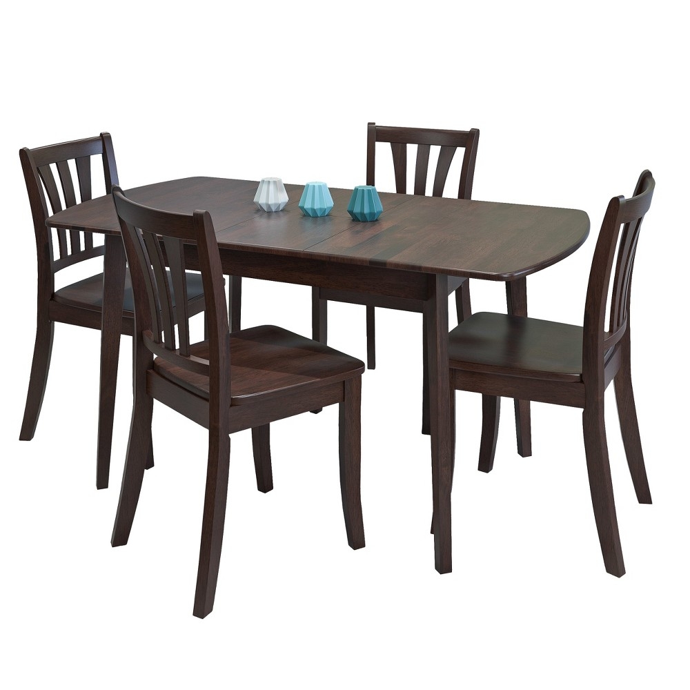 CorLiving Dining Table Set Cappucino