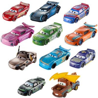 Disney Pixar Cars Piston Cup Race Die-Cast 11pk - Individual Cars May Vary.