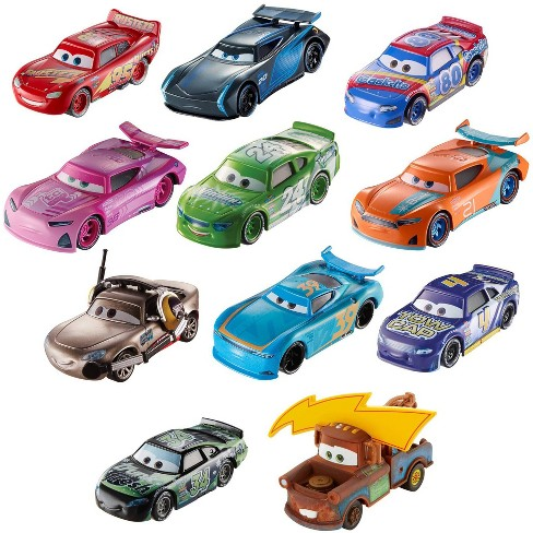 Disney Pixar Cars Piston Cup Race Die Cast 11pk Individual Cars
