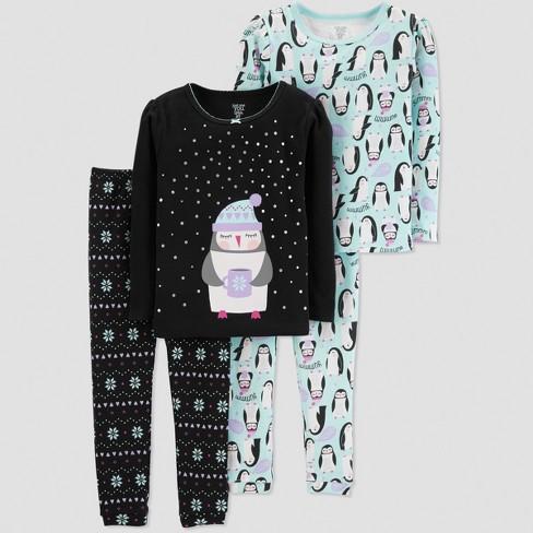 ceebaca4c821 Toddler Girls  Penguin 4pc Pajama Set - Just One You® Made By ...