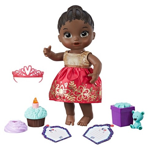 Baby Alive Cupcake Birthday Doll
