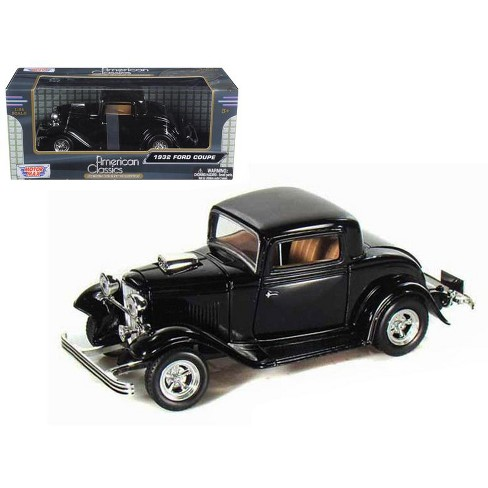 1932 Ford Coupe Black 1/24 Diecast Model Car by Motormax - image 1 of 1
