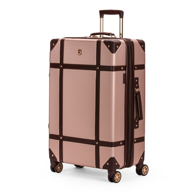 SWISSGEAR 26  Hardside Trunk Expandable Suitcase - Blush