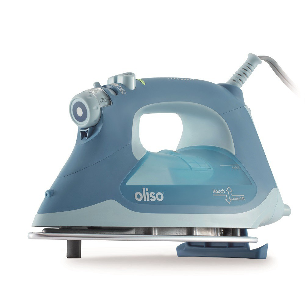 Image of Oliso Smart Iron - Blue, Garment irons