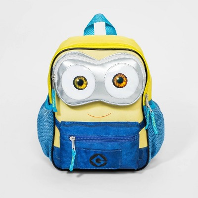 Kids' Minions Backpack with Front Pouch - Yellow/Blue