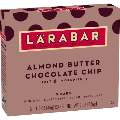Larabar Almond Butter Chocolate Chip Bars - 5ct 1.6oz