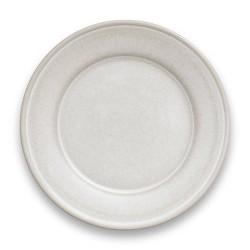 """10.5"""" Melamine and Bamboo Dinner Plate White - Threshold™"""