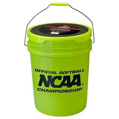 Rawlings 5 Gallon Sporting Goods Bucket with 18 Cork Center Softballs