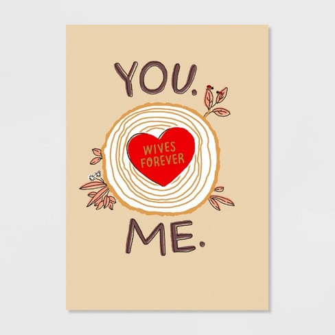 Wives Forever Valentine's Day Greeting Card - image 1 of 4