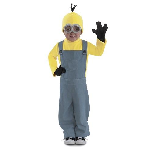 Minions Halloween Costume.Kids Minions Kevin Jumpsuit Halloween Costume Princess Paradise
