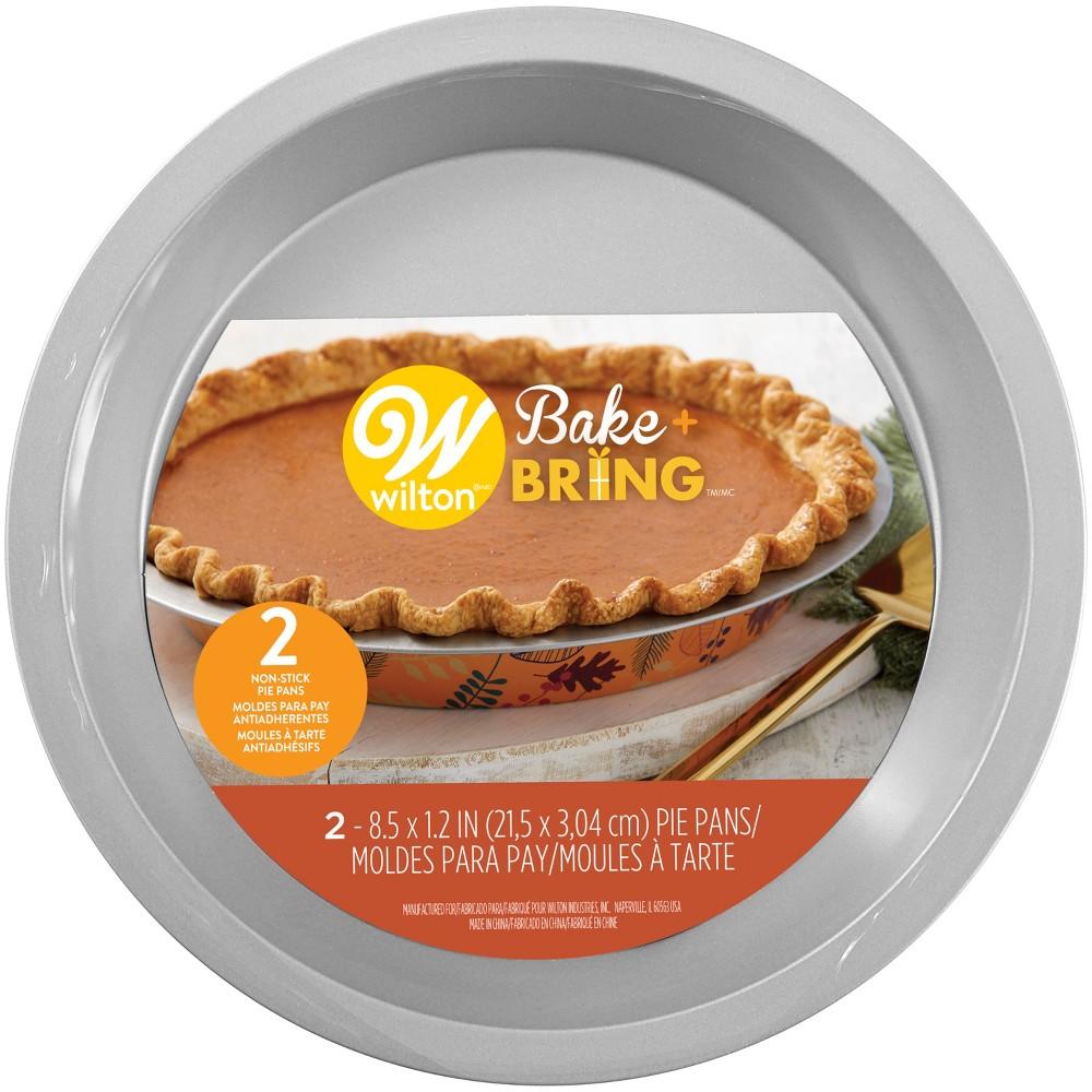 Wilton 2pk Pie Pans, Multi-Colored