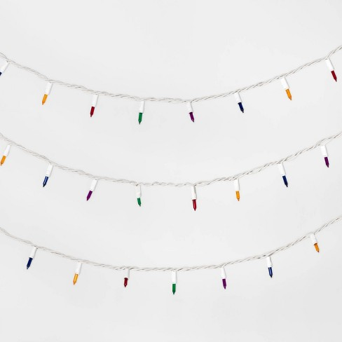 50ct Christmas Incandescent Mini String Lights with White Wire - Wondershop™ - image 1 of 2