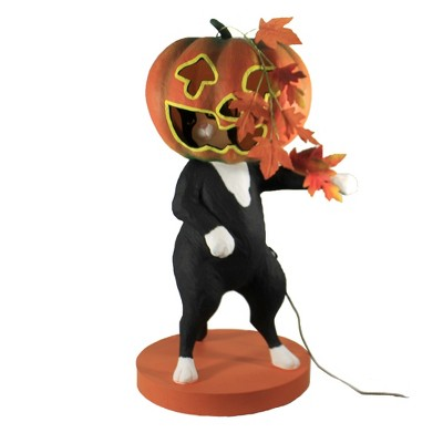 """Halloween 30.0"""" Life Of The Party Kitty Cat Black Cat Lighted  -  Decorative Figurines"""